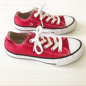 Converse Kids All-Star Sneakers in Red